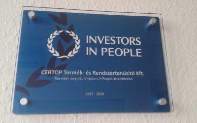 CERTOP – Az Investors in People akkreditált tanúsító